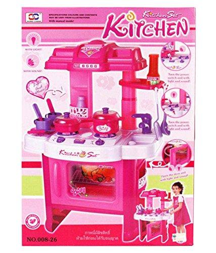 Girls Big Toy Kitchen Set Toyoos