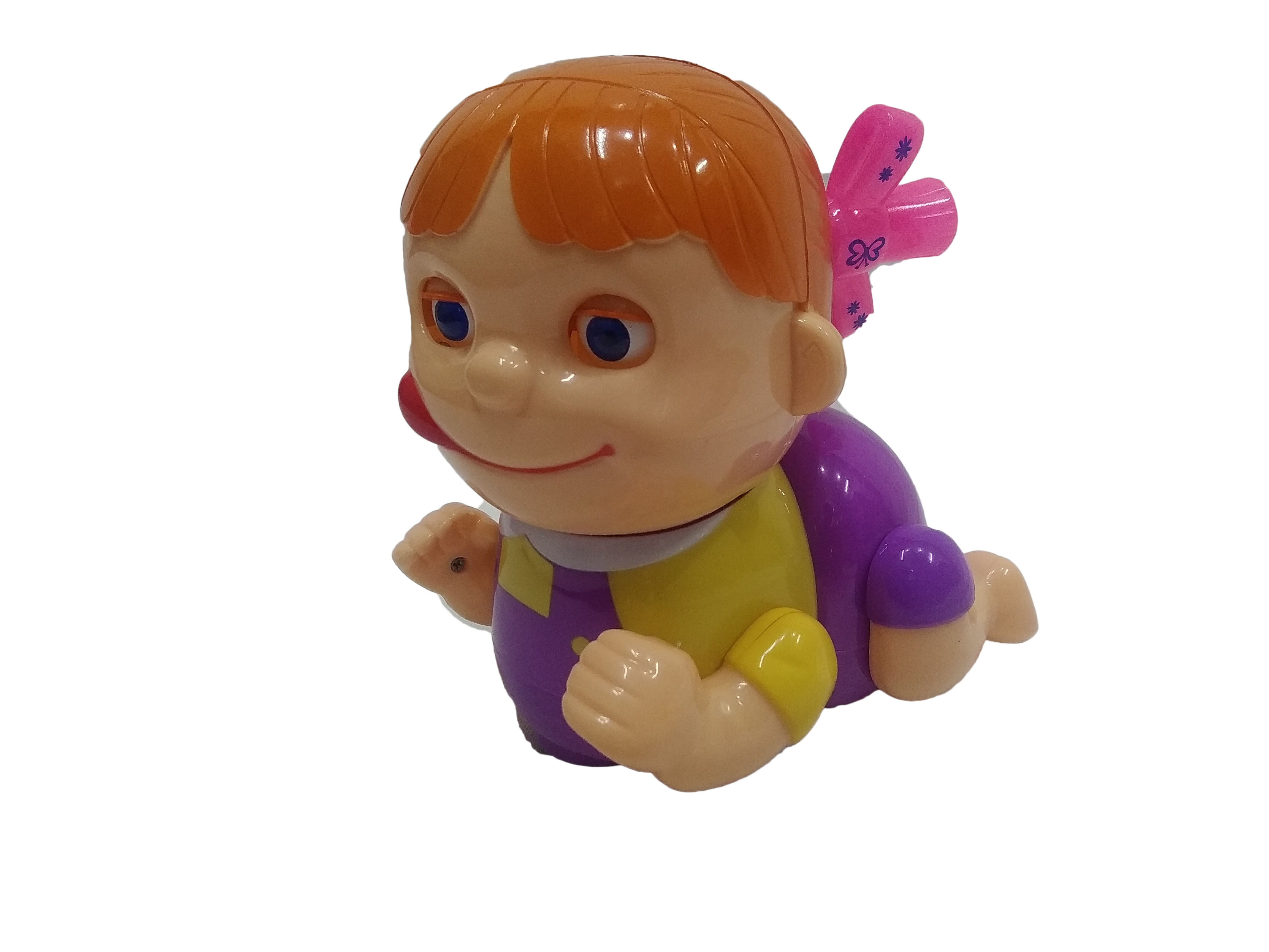 Naughty Baby Crawling Toy With Music And Lights Toyoos
