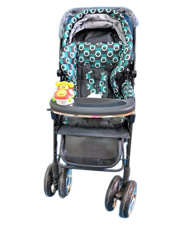 New Printed Stroller Cum Pram Stripe Print For Childrens