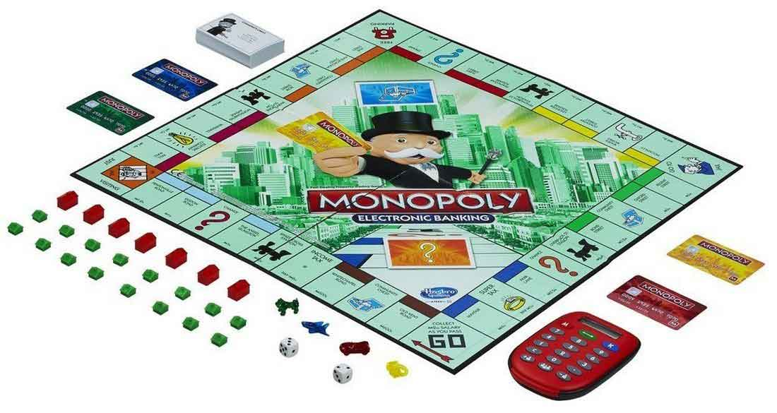 monopoly electronic banking game instructions