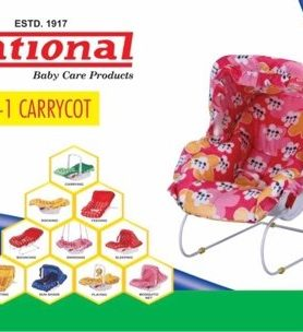 The New Rocker & Swing Carrycot 10 in 1 By National