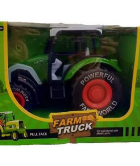 New Tractor Farm Playset Toy Die Cast For Childrens