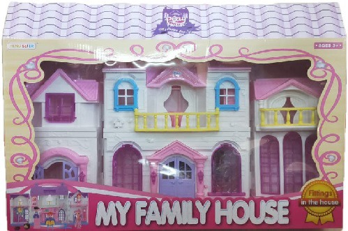 The New My Family Doll House Play Set For Childrens