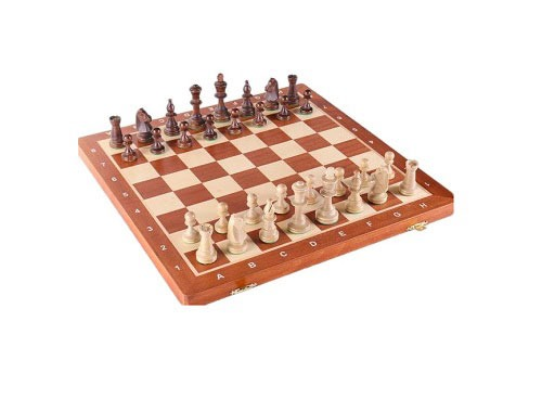The Foldable Box Very Good Quality Wooden Chess & Cheaker Set