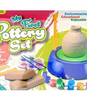 The New My First Pottery Set By Brands For Childrens