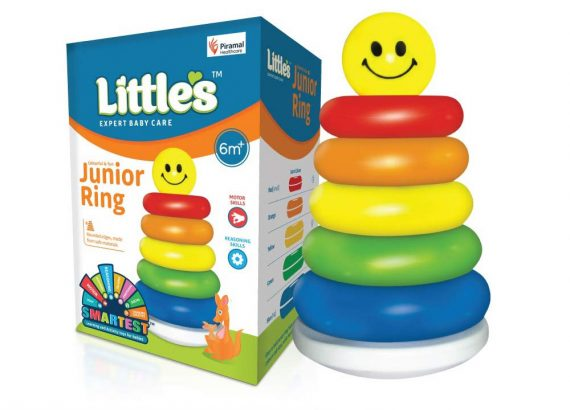 Little's Junior Stack Ring Toy For Kids (Multicolour)