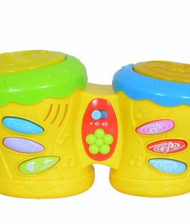 Litttles Musical Battery Operated Drum Kit for Little Kids
