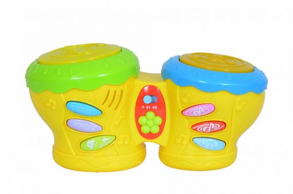 Litttles Musical Battery Operated Drum Kit for Little Kids