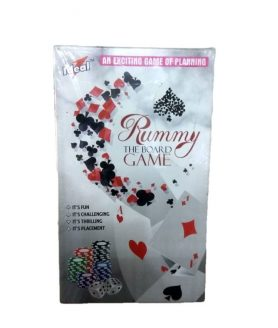 Rummy The Board Game By Ideal Easy Enough For Children And Adults