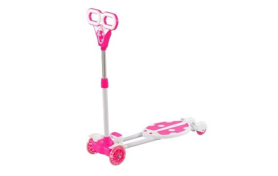 Pink Colour Two Leg Stylish Scooter for Kids for Rent