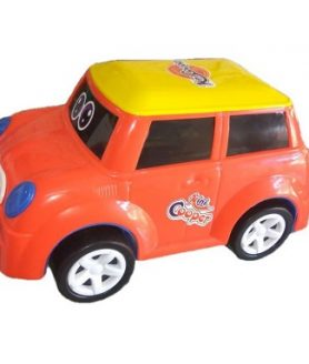 Mini Cooper Model Friction Car Childern Love To Play
