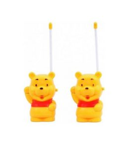 Cartoon Character Walkie Talkie Set With Extendable Antenna For Kids