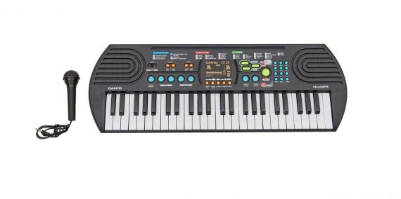 Canto 49 Key Electronic Keyboard with Mike and Fm Radio