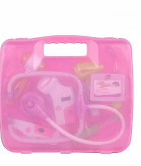 Doctor Kit with Light and Sound Stylish and Cool Pink color Doctor Set