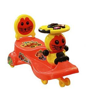 CAT Shape Rideon Magic Swing Car By Panda Turning Wheels