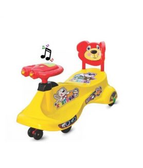 Kartoon Free Wheel Magic Rideon Swing Car By Panda