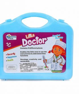 Little Doctor Set By Mamma Mia Kit is Handy For Children