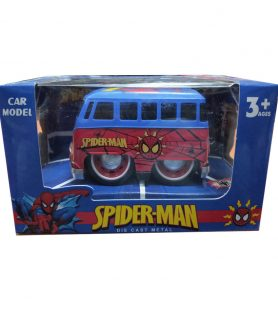 Toyoos Pull Back Spiderman Metal Body Car for Kids