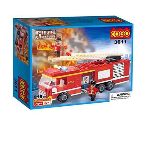 COGO City Firefighter Fire Game For Kids Age 6 Plus