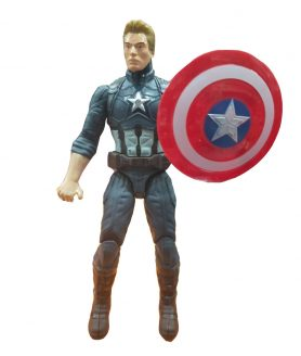 Toyoos Avengers 2 Super Hero Captain America Light in Chest Action Figure's For kids