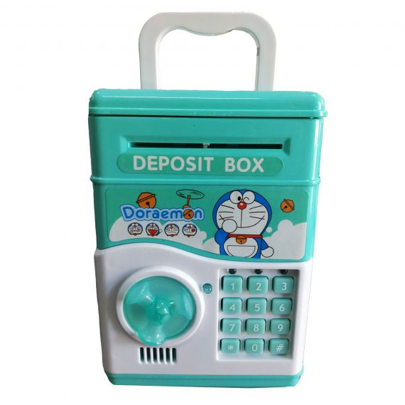 Toyoos Doraemon Money Safe Kids Piggy Savings Bank