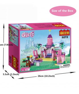Toyoos COGO Colorful And Solid Block Set For Girls