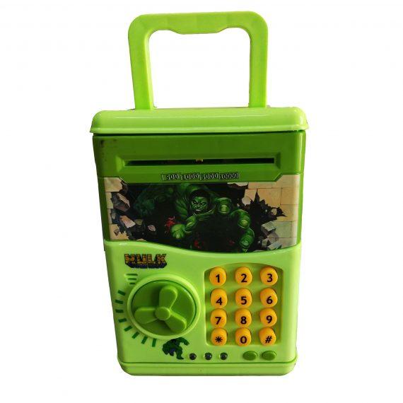 Toyoos Hulk Money Safe Kids Piggy Savings Bank with Electronic Lock