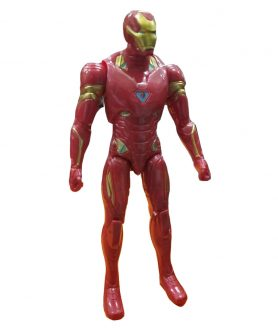 Toyoos Avengers 2 Super Hero Ironman Light in Chest Action Figure's