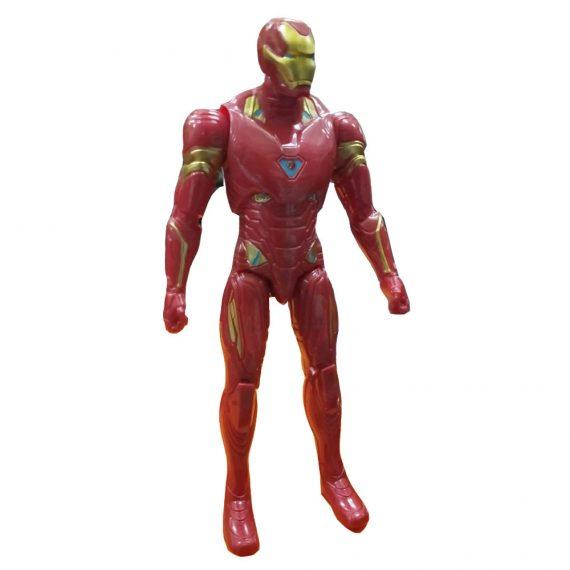 Toyoos Avengers 2 Super Hero Ironman Light in Chest Action Figure's
