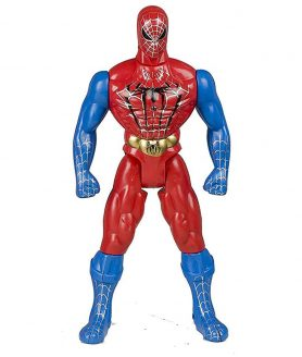 Toyoos Spiderman Character With Light in Chest Toy For Kids