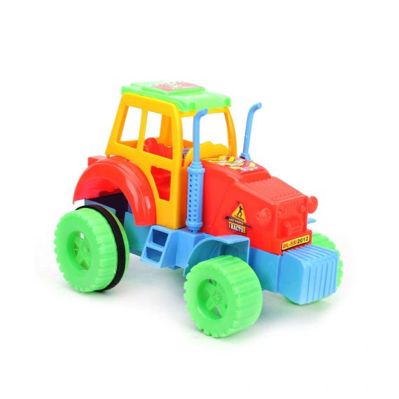 Toyoos Kids Zone Multicolor Nissan Tractor For Age 3 Years Kids
