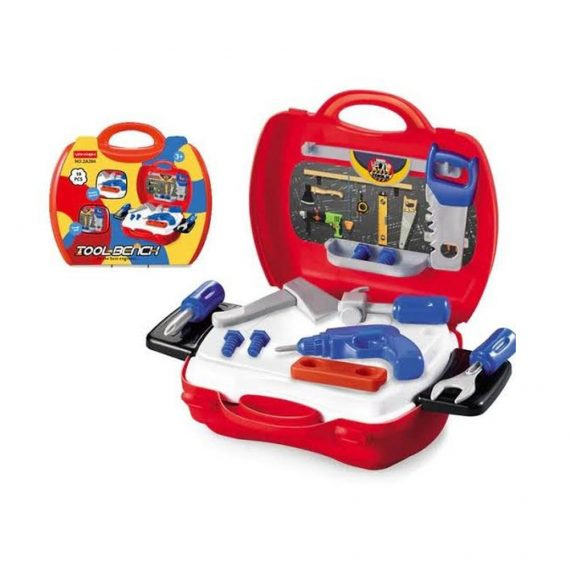 Toyoos Tool Series Pretend and Play Tool Set in Carry Case For Kids