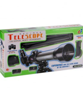 CHANG SHENG TOYS Telescope Toy with Compass for Kids