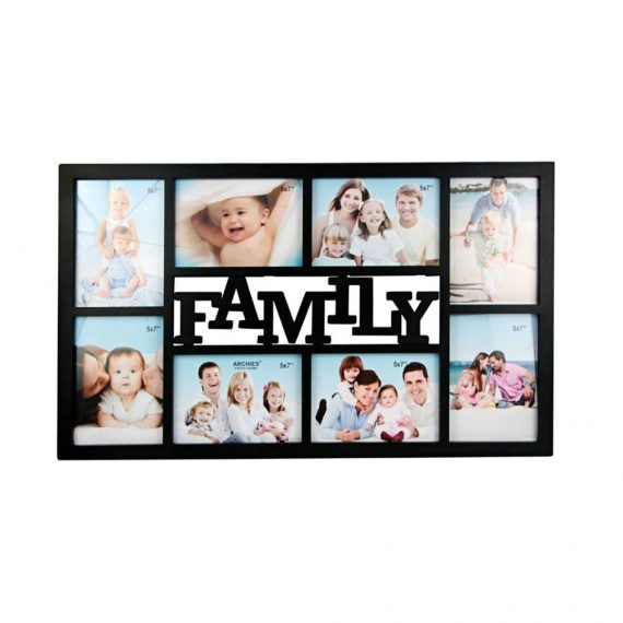 Archies 8 in 1 Photo Frames Wall Hanging For Home Decoration