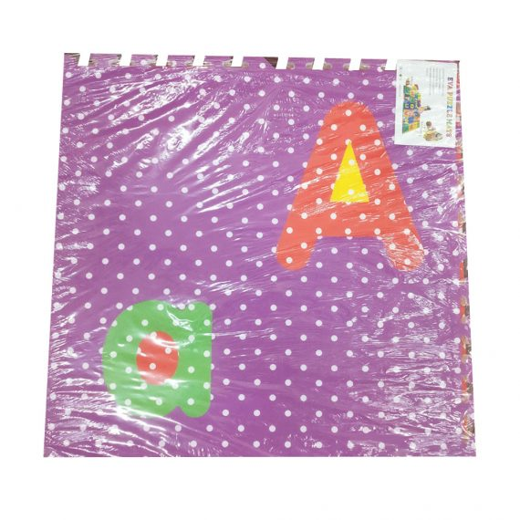 Toyoos Eva Foam Puzzle Mat ABC For Boys And Girls Multicolor